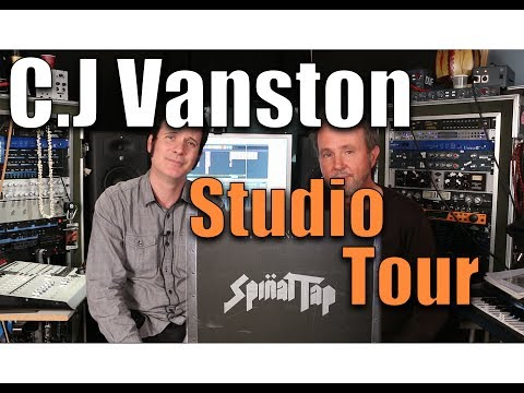 Studio Tour with Producer & Film Composer CJ Vanston - Warre