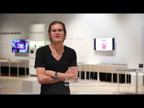 [CU2016] Jussi Angesleva - From Screens to Physical Spaces…Tangible Digital Works
