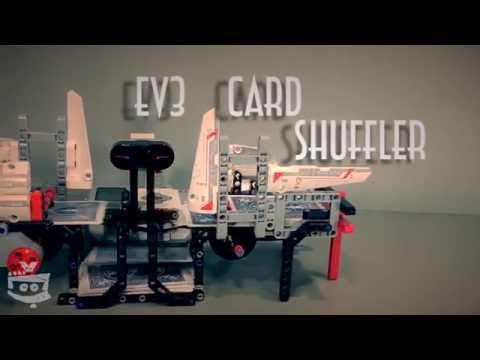 Lego Mindstorms Ev3 Cards Shuffler Lego Mindstorms Creations With
