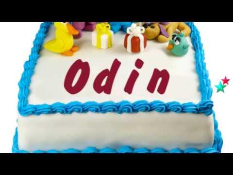 happy birthday odin
