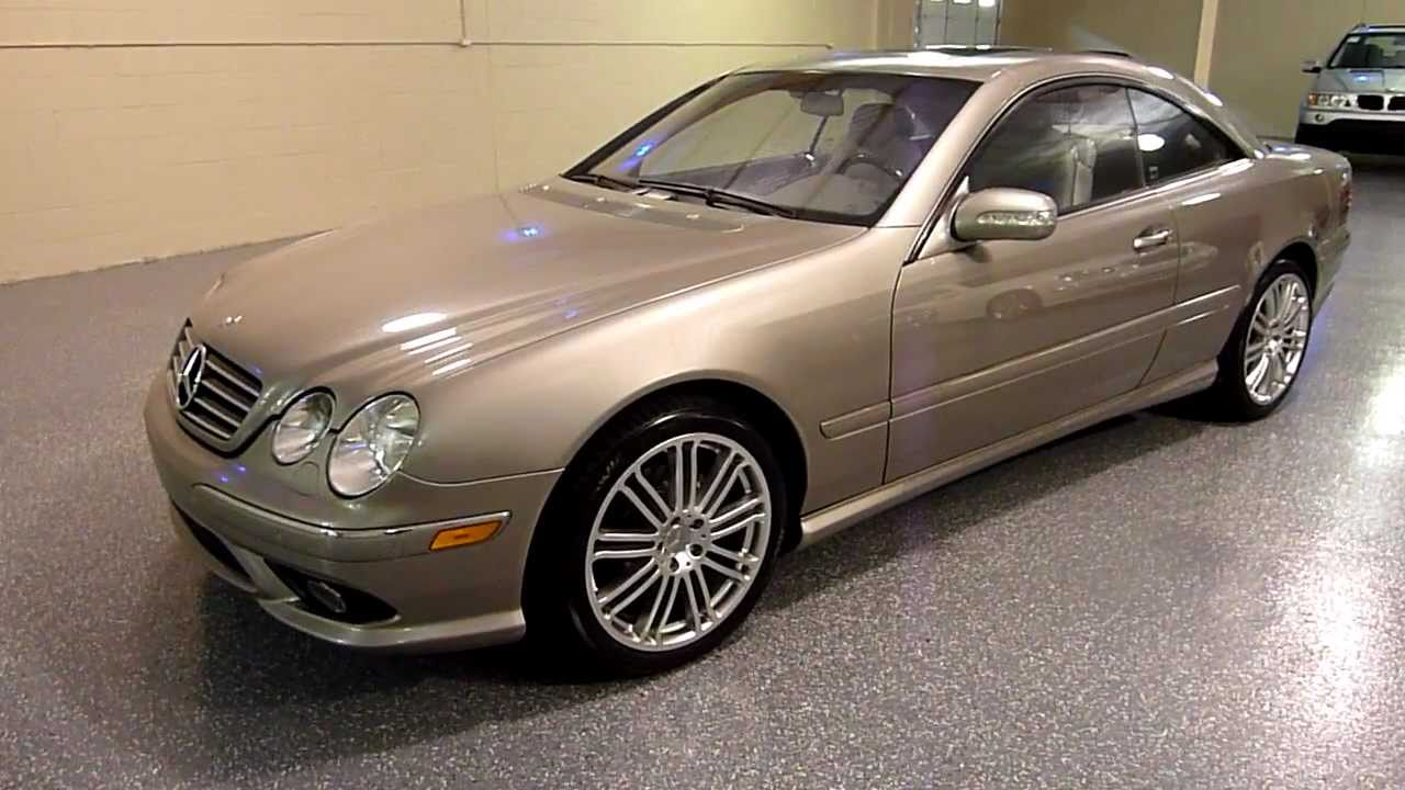 2003 mercedes benz cl500 coupe sport package 2063 sold. Black Bedroom Furniture Sets. Home Design Ideas
