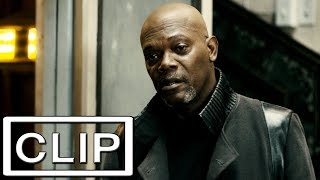 "Kite ""Crime Scene"" Clip Official - Samuel L Jackson"