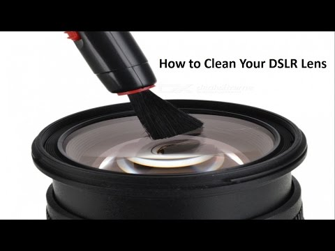 How To Clean a DSLR Lens properly using Lens Cleaning Kit
