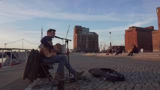 Perfektes Wetter im Februar - Hafenkonzert in Wismar (John Mayer - XO)