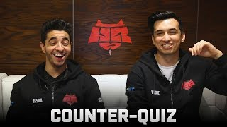 Counter-Quiz: HellRaisers (ISSAA & woxic)