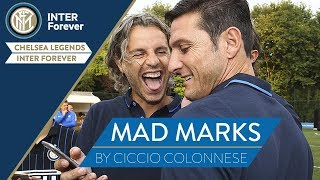 CHELSEA LEGENDS-INTER FOREVER Alternative Commentary | MAD MARKS with Colonnese and Zanetti!