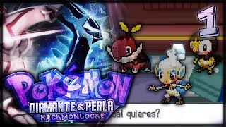 ¡500 NUEVOS HACKMONS! - Pokémon Diamante y Perla Hackmonlocke #1
