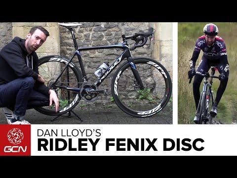 Download Youtube: Dan Lloyd's Ridley Fenix Disc | GCN Presenter Bikes