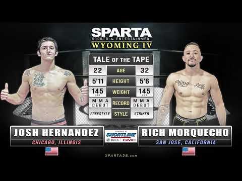 Sparta Wyoming 4 Hernandez vs Morquecho