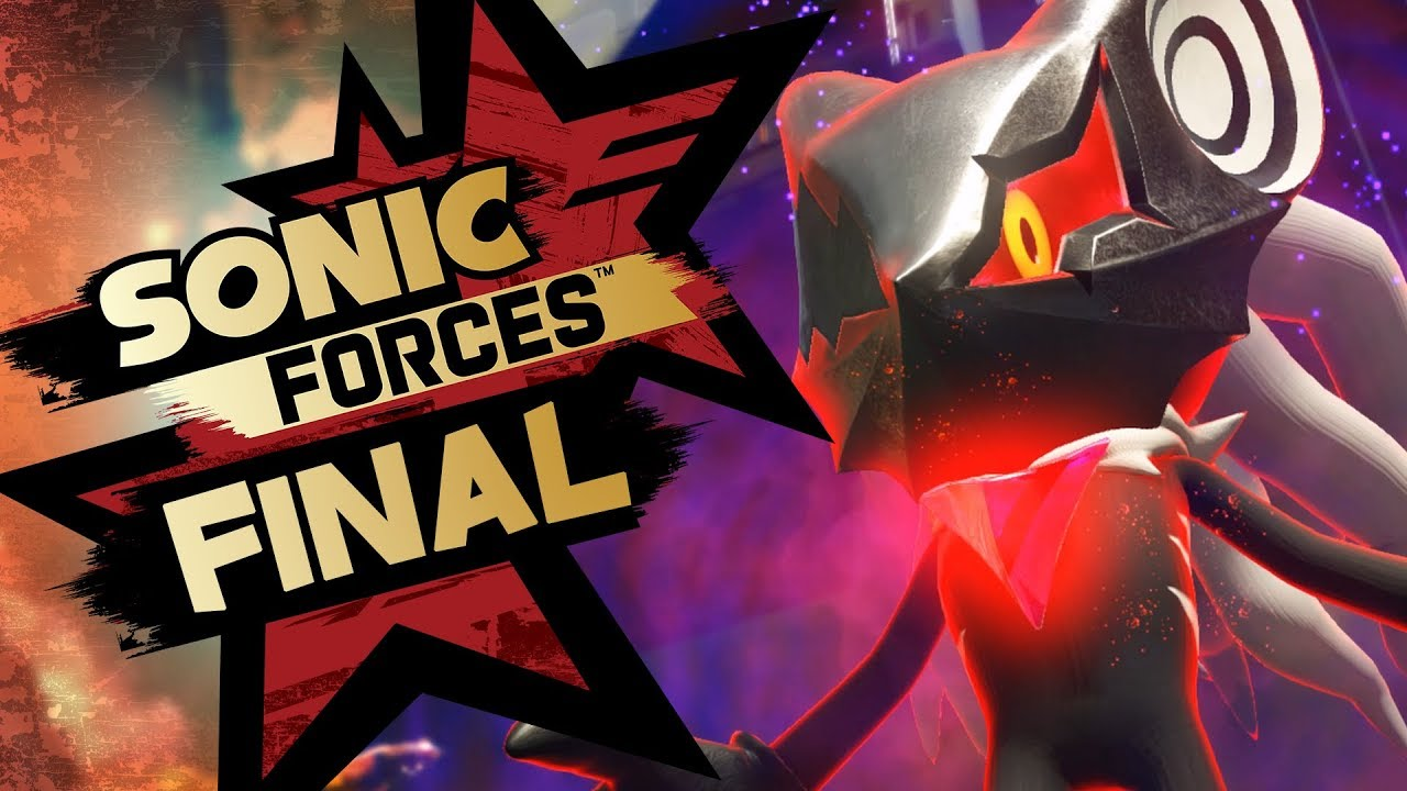 Sonic Forces PS4 Pro 4K Gameplay Walkthrough Playthrough Let's Play (Full Game) - Part 6 Hard Mode