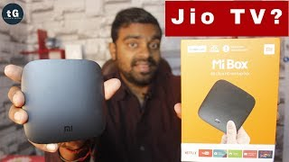 Xiaomi Android TV Box - Can I use Jio TV in Xiaomi TV Box? Convert Normal TV into Android TV