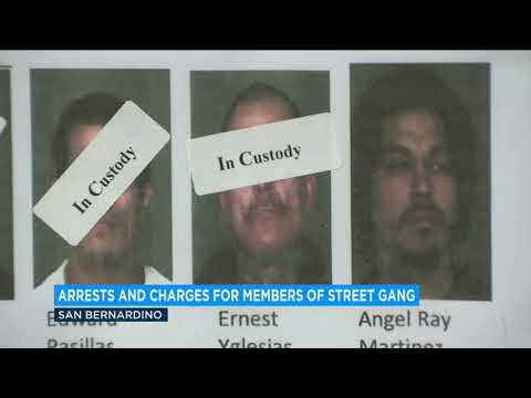 35 indicted in crackdown of San Bernardino street gang tied to Mexican Mafia | ABC7