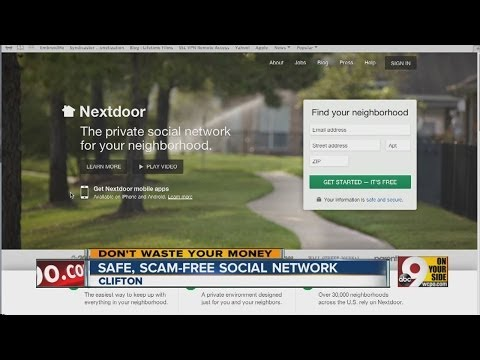 Safe, scam-free social network