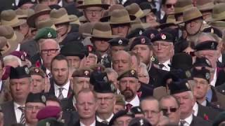 BBC News - Remembrance Sunday - 2 minute silence - Big Ben and Cannons