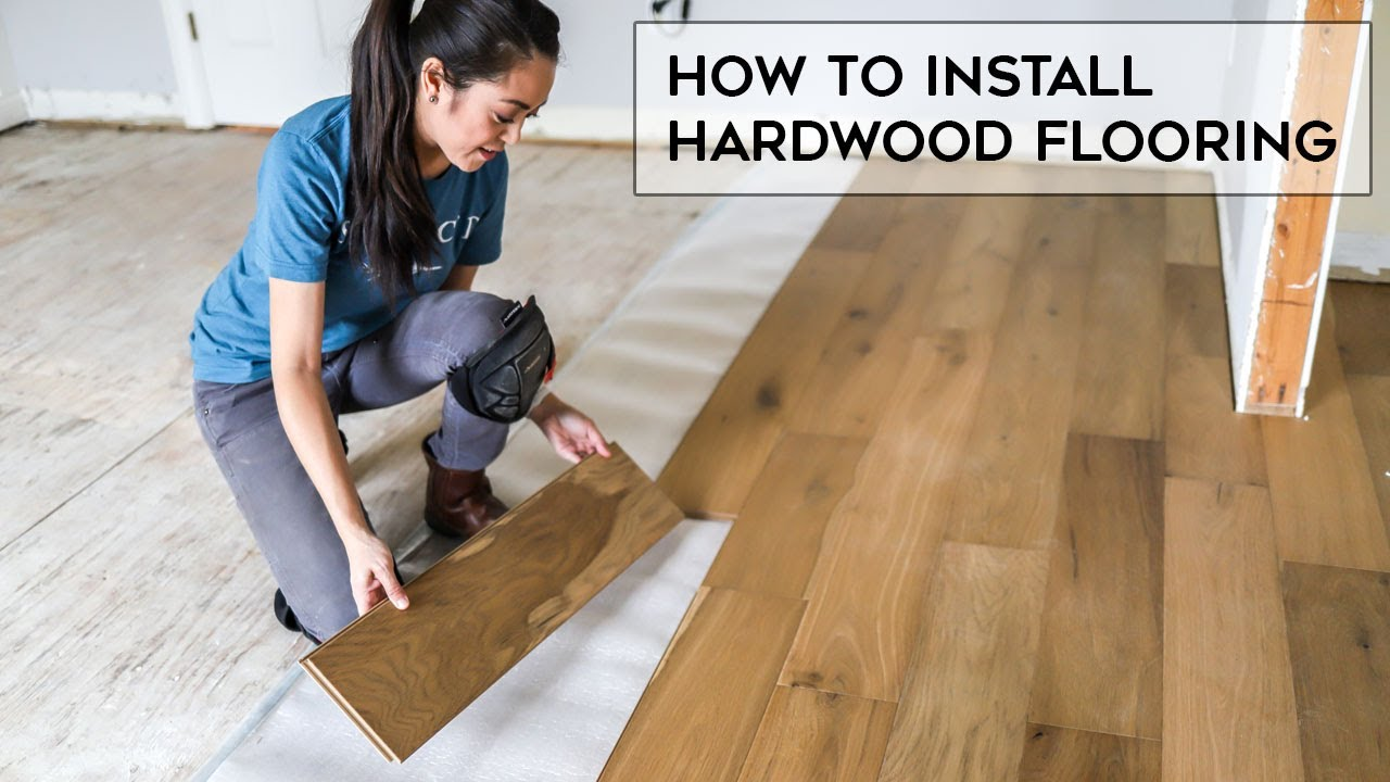 How To Install Hardwood Flooring For