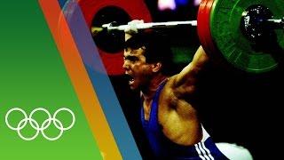 Naim Süleymanoğlu wins third Weightlifting gold | Epic Olympic Moments