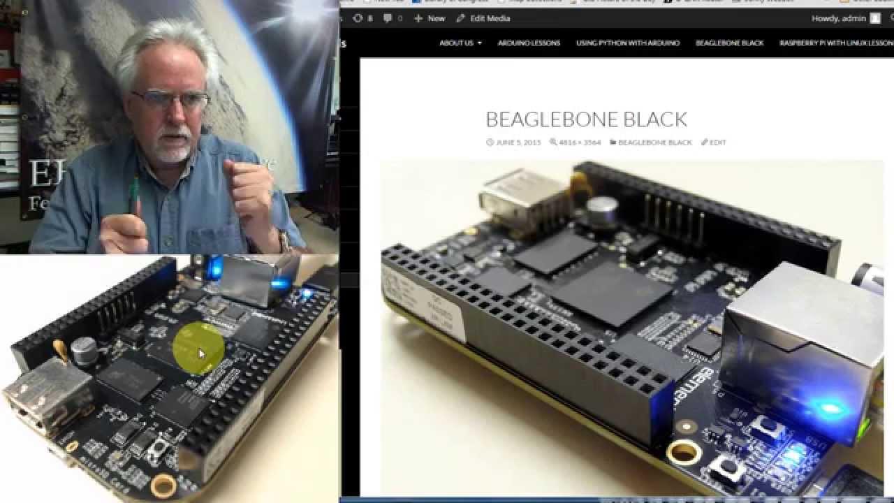 Beaglebone Black LESSON 1: Understanding Beaglebone Black