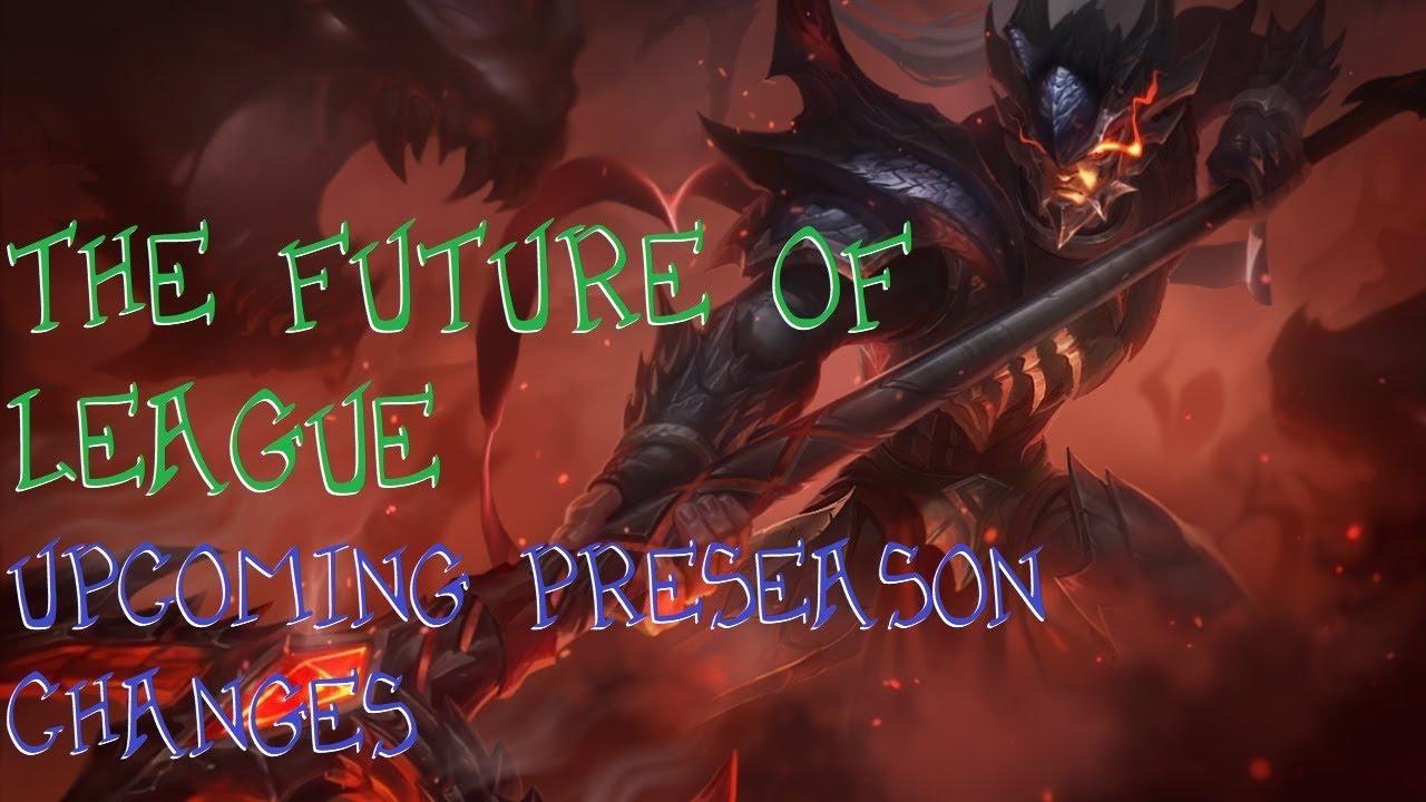 preseason changes league