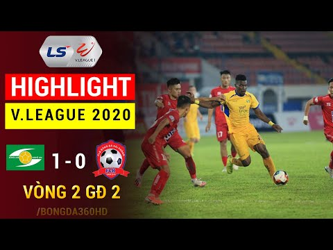 Song Lam Nghe An Hai Phong Goals And Highlights