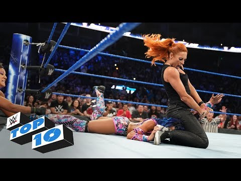 Top 10 SmackDown LIVE moments: WWE Top 10, September 24, 2019