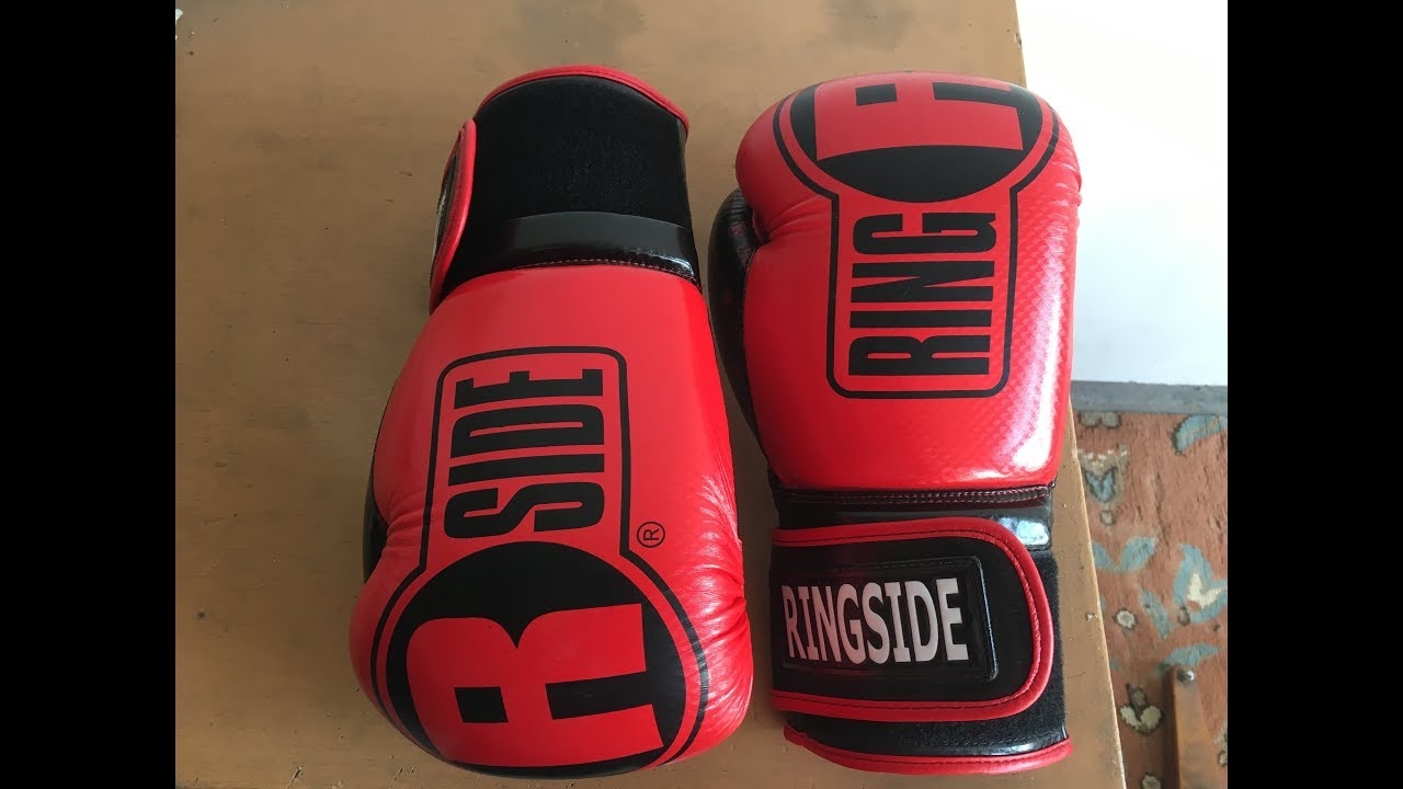 Trying Out New Ringside Apex Bag Gloves