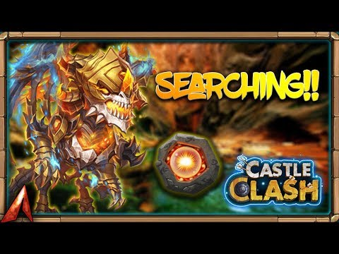Searching For SCORCH For SKELETICA! Talent Refreshes! Castle Clash