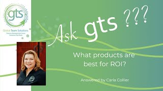 What products are best for ROI?