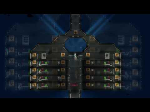 Starbound - Underwater Research Base Build