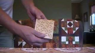 Chip Carving - Quilt Hanger Blocks