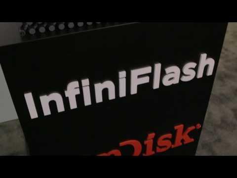 SanDisk InfiniFlash - Flash Memory Summit 2016