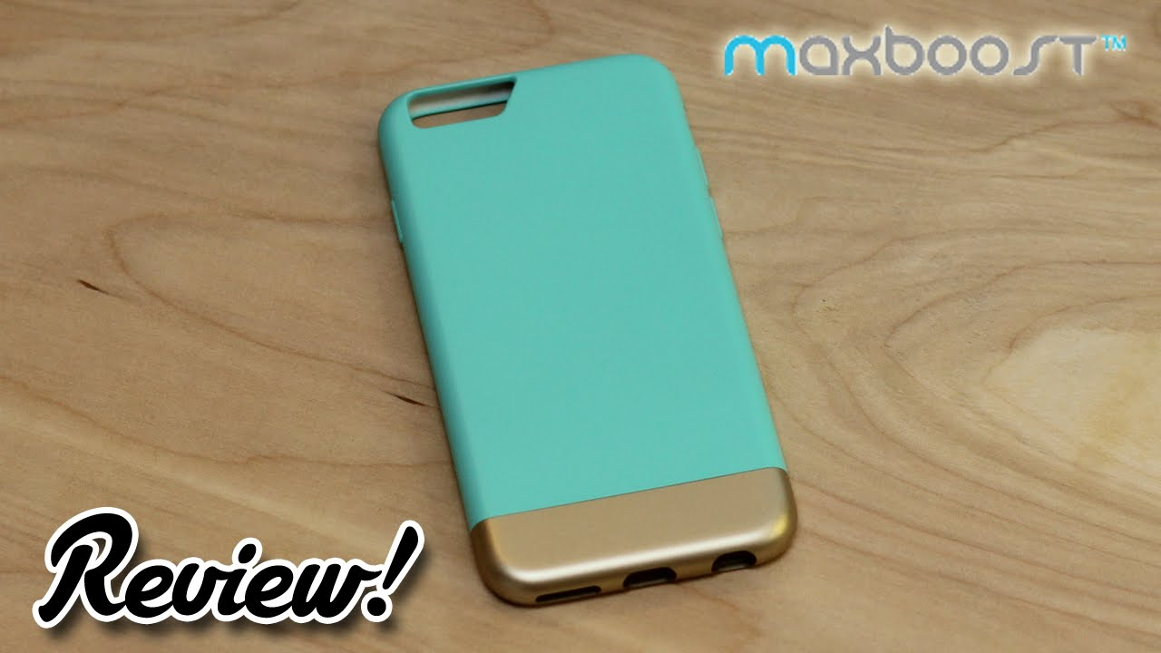 check out 09f9d 5de45 Review: Maxboost Vibrance Series iPhone 6/6s Case - Tiffany Blue /  Champagne Gold