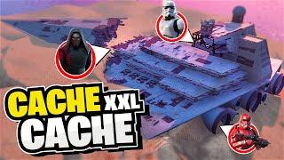 Immense Cache-Cache dans un vaisseau Star Wars sur Fortnite Créatif !