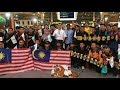 Download Malaysian football fans head to Hanoi for Suzuki Cup final