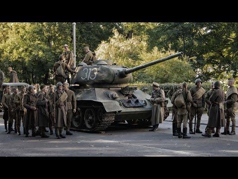 """Eesti mängufilm """"1944"""" filmimine Toompeal / Estonia's movie """"1944"""" Behind the scenes 2013"""