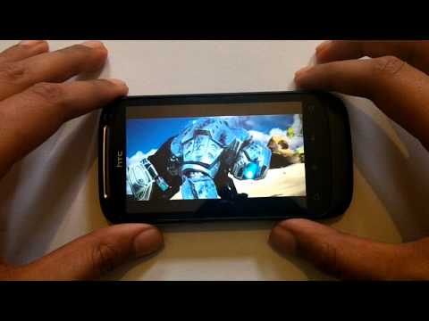HTC Desire S Gaming Performance