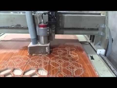 CKD Project - Wooden frame gantry CNC - 2D test