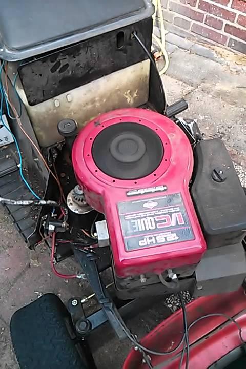 Briggs Amp Stratton Motor 12 5 Ps Mit Anlasser