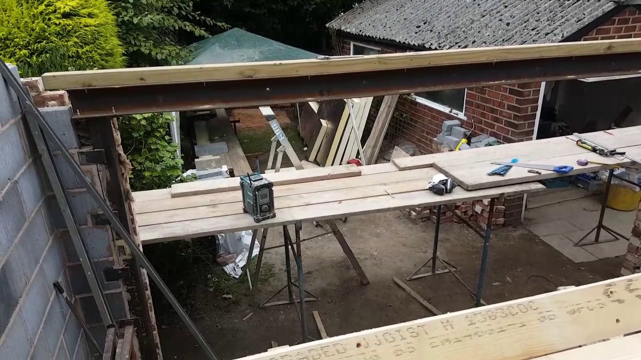 Lintels Over Folding Doors And In A Vaulted Roof Youtube