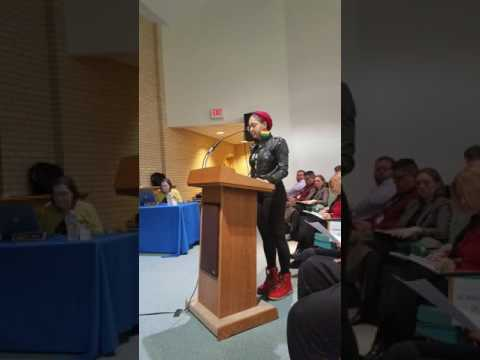 **Nu Black Power Movement Speaks Out for Black Youth** School Board Testimony of NBP members.