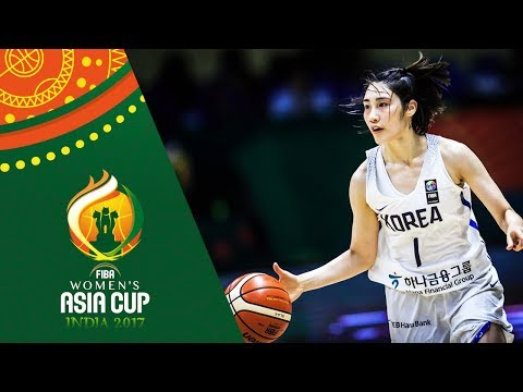 HIGHLIGHTS: Perlas Pilipinas vs. Korea (VIDEO) FIBA Women's Asia Cup 2017