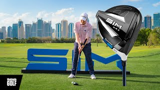 TaylorMade Sim Launch in Dubai ft Robert MacIntyre