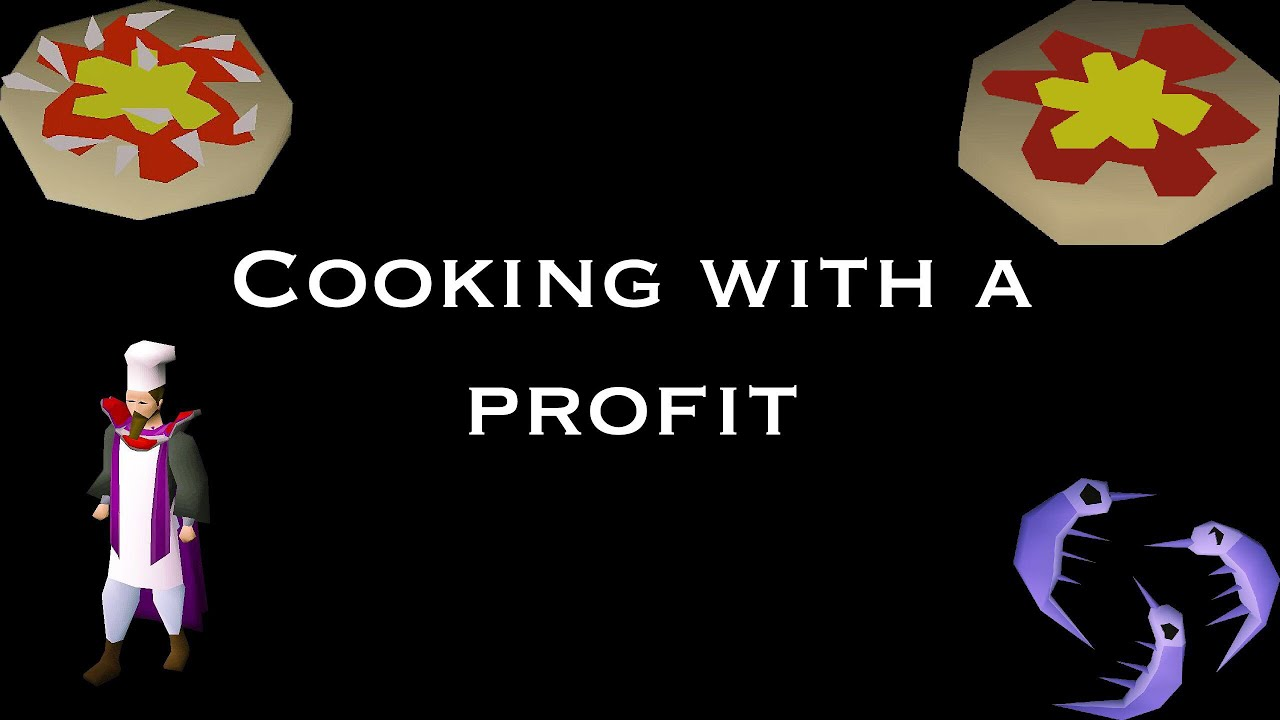 F2P - OSRS cooking with a profit guide 60k XP/hr - Video
