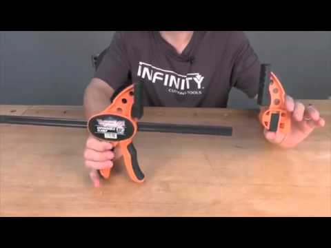 Jorgensen E-Z Hold expandable bar clamps at Infinity Cutting Tools