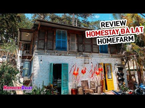 Review HomeFarm Homestay Đà Lạt | Ngôi nhà như trong truyện cổ tích