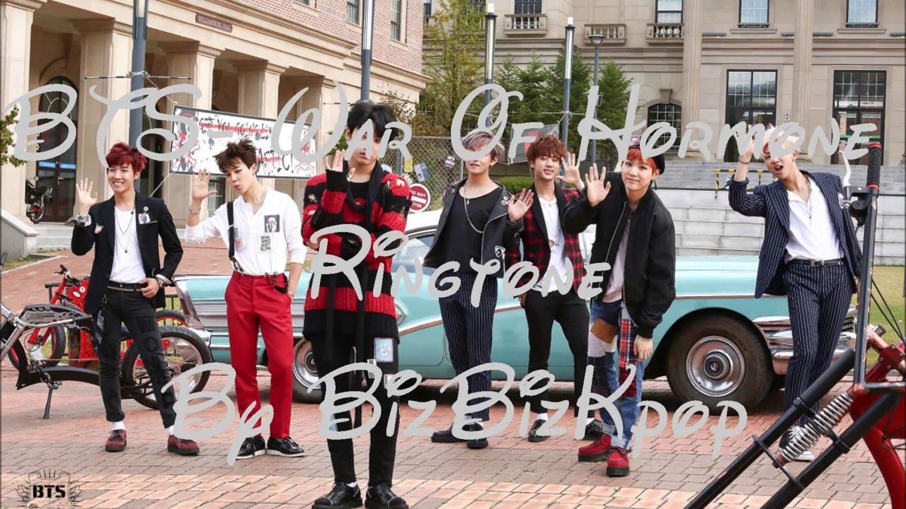 BTS- war of hormone Ringtone