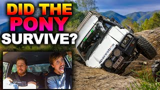 The Most 4WD damage we've EVER done! Smashed Windows, Panels, Driveline - Australia's TOUGHEST TRACK