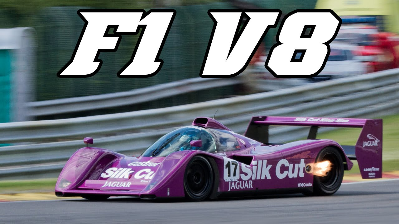 Jaguar XJR-14 with F1 V8 engine - Spa Classic 2015 - YouTube