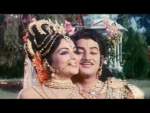 Kurukshetram Movie || Mrogindi Kalyana Veena Video Song || Krishnam Raju, Shoban Babu