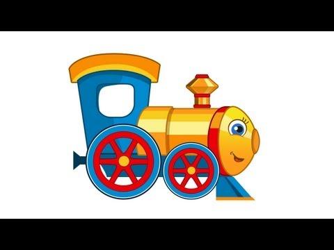 Развивающие Мультики - Паровозик Умняша - мультфильм для детей
