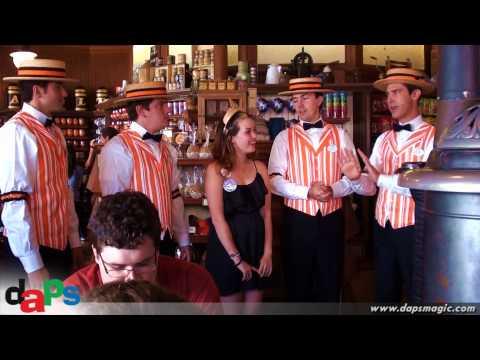 Happy Birthday - Dapper Dans of Disneyland - Halloweentime - Market House
